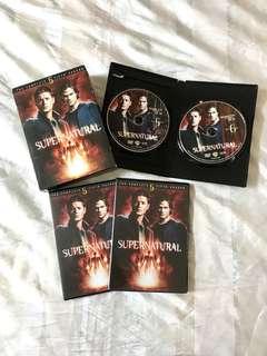 Supernatural Season 5 DVD Box Set