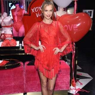 BNIP Get It Girl Scarlet Tassel Dress - Alice Mccall Style (bought $180, AM RRP $455) 🇦🇺 #DRESSSALE