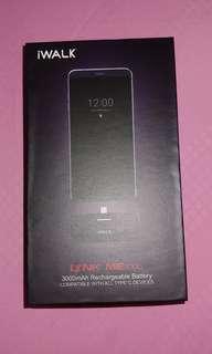 iWalk 3000 mAh USB Type C Powerbank