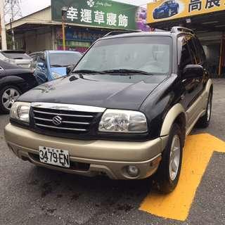 2006 鈴木 Grand Vitara 2.0 全車 原版件 無重大事故2WD