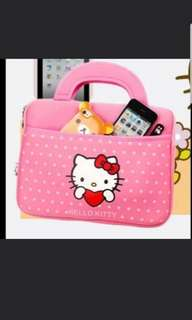 In stock hello kitty design laptop bag for 14 inch laptop