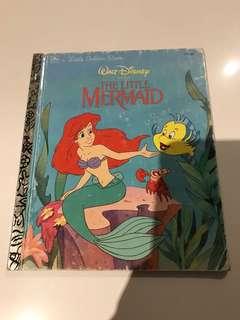 The Little Mermaid - Little Golden Book