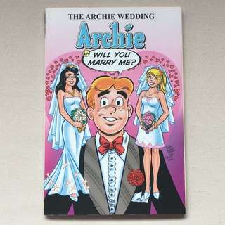 Archie Comics: Will You Marry Me? The Archie Wedding