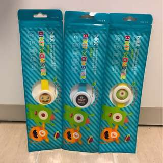 售: 韓國 Bikit Monster 防蚊手帶