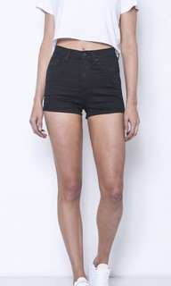 Ziggy high waist denim shorts