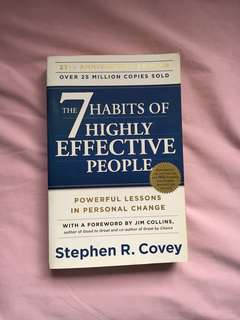 7 Habits on Highly Effective People