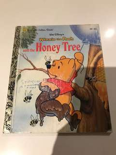 Winnie The Pooh And The Honey Tree - Little Golden Book