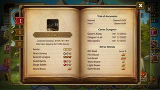 Selling Summoners War Acc (Asia)