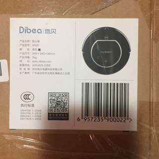 Dibea Cleaning Robot X500 地貝 掃地機械人 黑色 家用 全自動 智能吸塵器 擦地