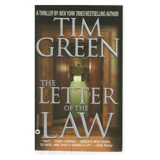 Tim Green - The Letter Of The Law
