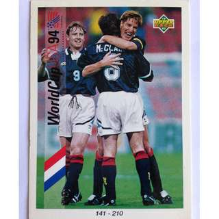 141 - 210 Checklist Soccer Football Card (#200) - 1993 Upper Deck World Cup USA '94 Preview Contenders