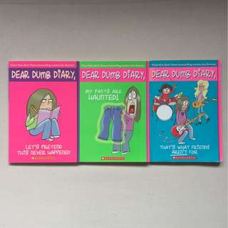 3 for $10 Dear Dumb Diary Series by Jim Benton