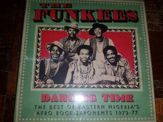 Music CD (Sealed): The Funkees ‎– Dancing Time (The Best Of Eastern Nigeria's Afro Rock Exponents 1973-77)