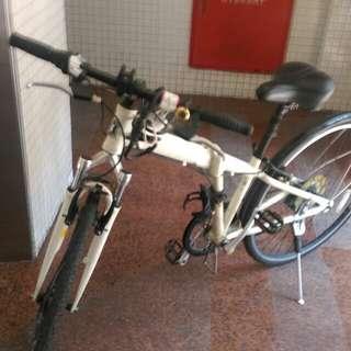 🚚 日本名牌鹿牌700  自行車 折疊式 世界名牌