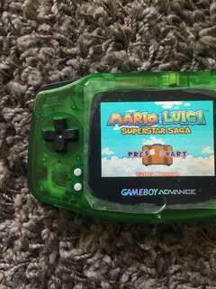 Gameboy Advance MOD Custom with AGS-101 Backlight