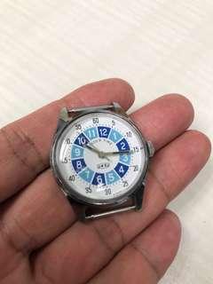 美品古董星晨子供教育用時計