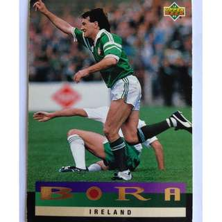 Ireland, Bora Milutinovic - Soccer Football Card #209 - 1993 Upper Deck World Cup USA '94 Preview Contenders