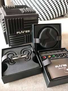 Flares Pro Wireless and Wired Combo High Quality Headsets for Audiophiles