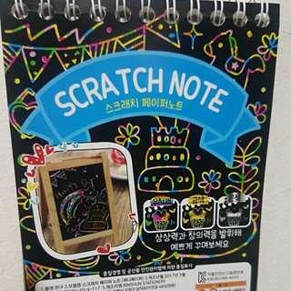 25% off!! Scratch note