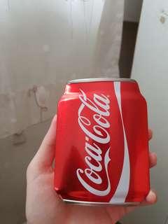 🚚 Coca cola tin can