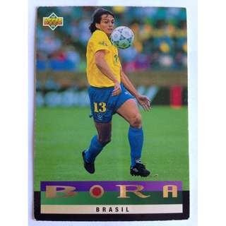 Brazil, Bora Milutinovic - Soccer Football Card #203 - 1993 Upper Deck World Cup USA '94 Preview Contenders