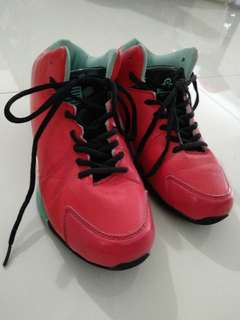 Admiral Red Basketball Shoes