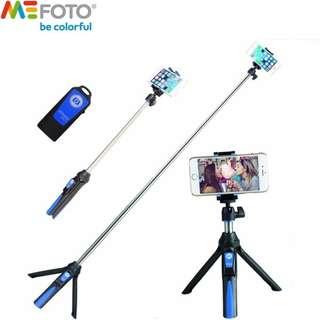 Benro Mefoto MK10 Mini Mobile Tripod For phone, Gopro ,Camera Bluetooth Control Selfie Stick Tripod
