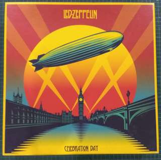 Led Zeppelin Celebration Day Record