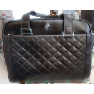 Mercedes Benz Computer Briefcase/Bag (Diamond pattern)