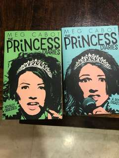 The princess diaries x2 bu meg Cabot