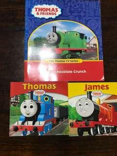Thomas the train children booksx3