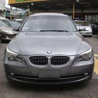 2008年 原廠一手保養車 頂配柴油 BMW 525D E60車款 全額貸款交車
