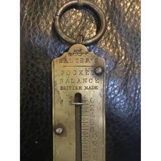 (❗️搬屋在即, 最後減價❗️)英國古董秤Pocket Balance