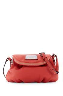 NEW MARC JACOBS Classic Mini Leather Messenger Bag