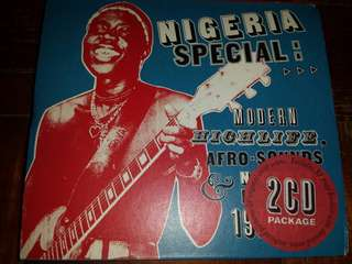 Music CD (2xCD): Various ‎– Nigeria Special: Modern Highlife, Afro Sounds & Nigerian Blues. 1970-6
