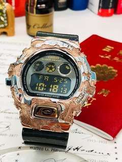 Only 1 in HongKong! Bespoke G shock DW-6900CR