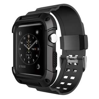#JANSIN Instock Apple Iwatch rugged case strap - NEW