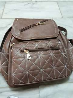 Leather bag ..good quality of leather used..water proof