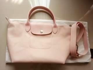 Longchamp small soft pink