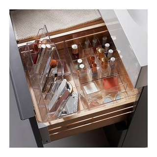 Acrylic box organiser for makeup or stationary
