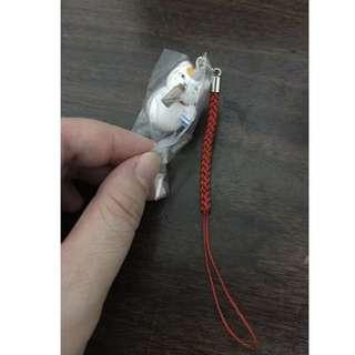 夏目友人帳 貓咪老師 貓咪先生 轉蛋 扭蛋 泡溫泉 公仔 手機 吊飾