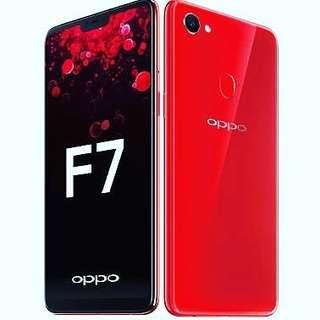 Oppo F7 4 64 New Garansi Resmi