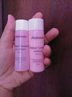 Mamonde moisture ceramide emulsion skin softener