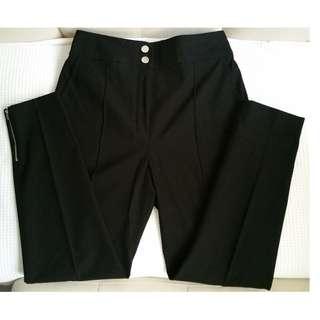 HERMES Black Pants