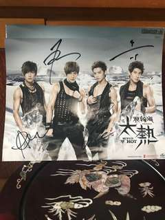 Fahrenheit Super Hot Signed CD