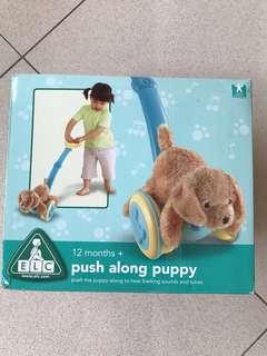 Push Along Puppy ELC