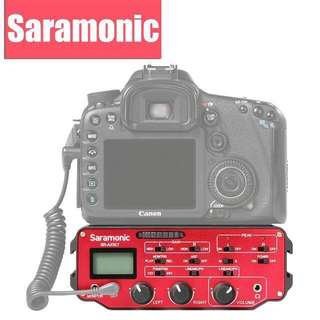 Saramonic SR-AX107 2-Channel XLR Audio Adapter with Isolation Transformer for DSLRs