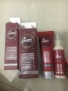 Gluserent peeling spray and Hand&body lotion