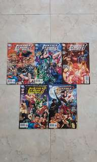 """Justice League of America Vol 2 (DC Comics 5 Issues, #22 to 26, complete story arc on """"Second Coming"""")"""