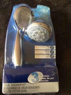 Brand new shower head kit